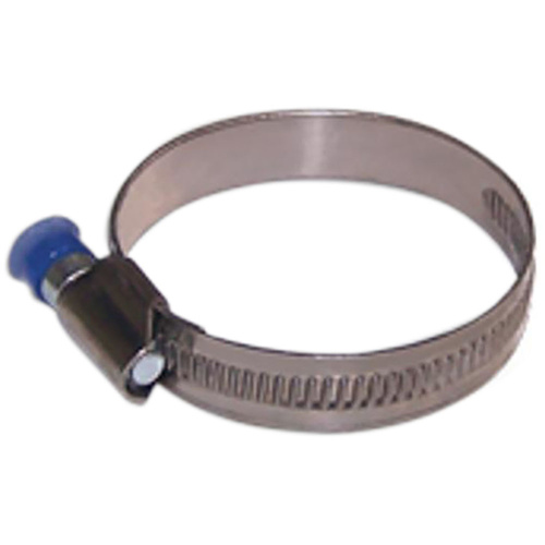 S/S WORM D - SOLID CLAMP