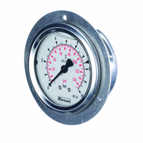 0 - 10 BAR(145 PSI) PRESSURE GAUGE