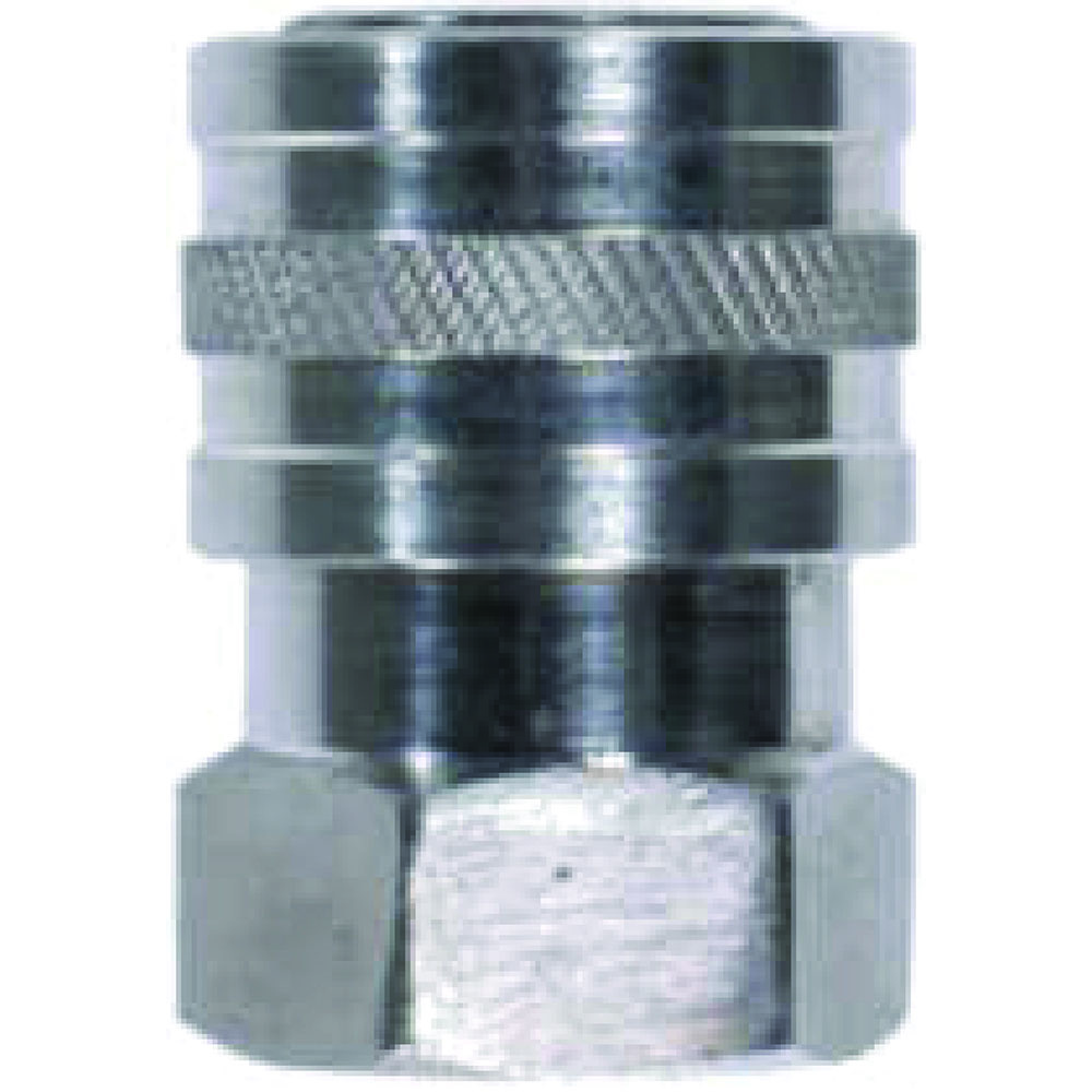"QC 1/4"" BSP F STAINLESS TO 5000 PSI COUPLING"